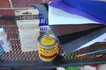 Hemp string & wood Stain