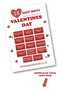 VALENTINES DAY EASY WAYS TO SPEND IT WITH YOUR KIDS CHECKLIST