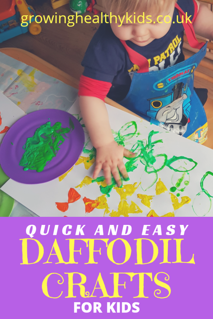 quick and easy daffodil crafts for children