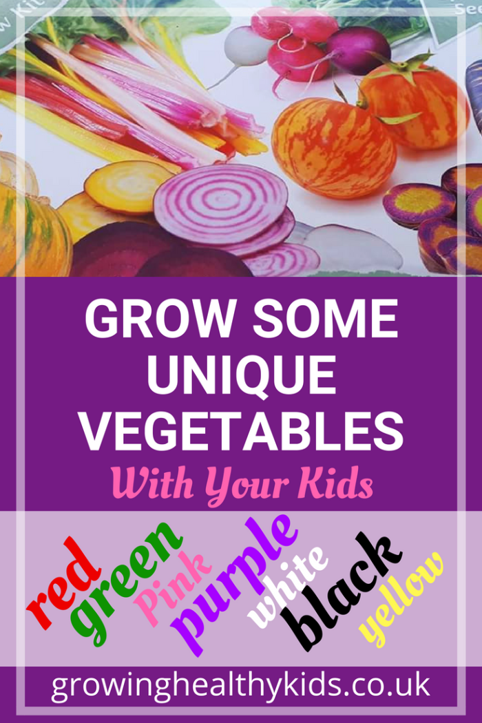 Exciting Unique vegetables to grow with your kids