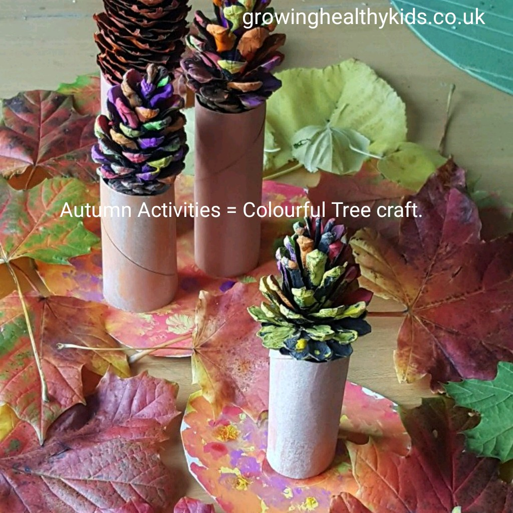 There is plenty of ideas on how to use autumn leaves but why not try this Autumn Tree Craft? Perfect for preschool kids and a wonderful display idea for Fall.