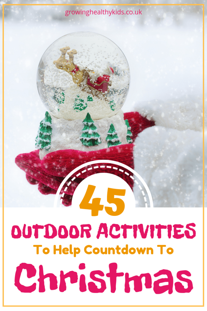 Outdoor, winter themed activities for fun this christmas. Kids will love these awesome ideas to get outdoors this winter. Some crafts activities and ideas for families to try together.