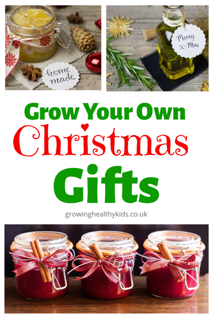 Grow your own Christmas Gifts for all your friends and family. Home made and home grown gifts are a wonderful treat