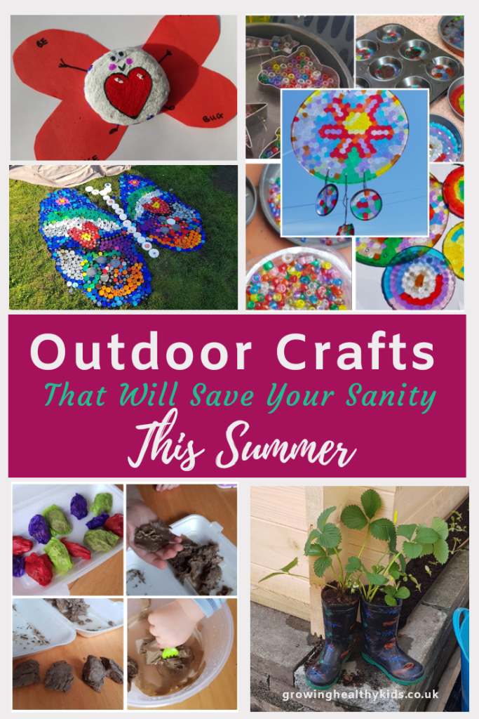 Super easy, simple and brilliant back yard craft to do with your kids. Diy crafts you can have fun with outdoors in Spring, Summer or Fall. Great craft for toddlers, preschool, or kids of all ages.