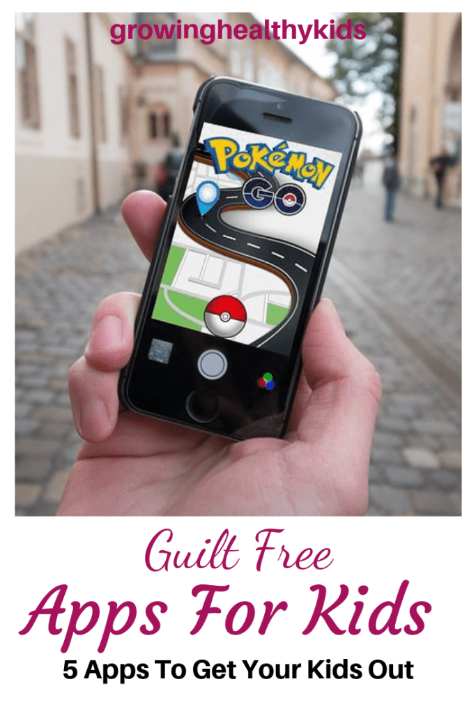 Free apps for kids that don't need wifi and encourge outdoor play
