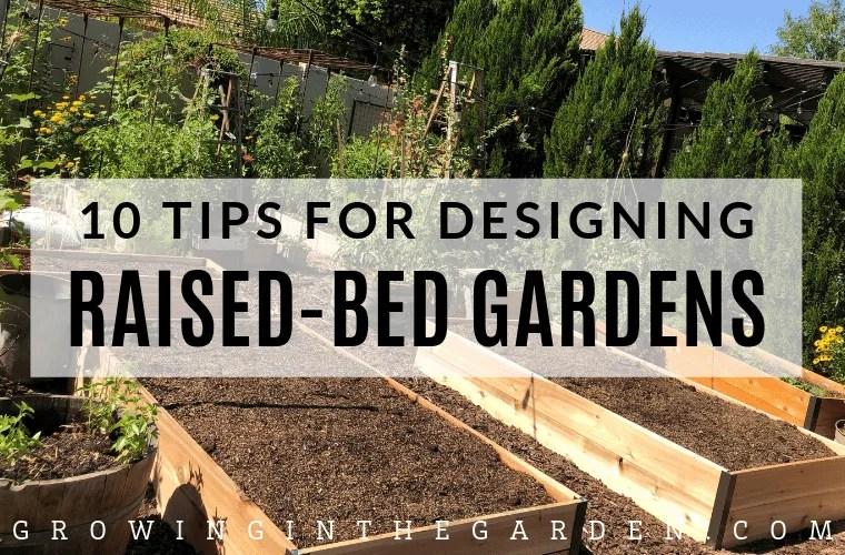 Raised bed garden design tips
