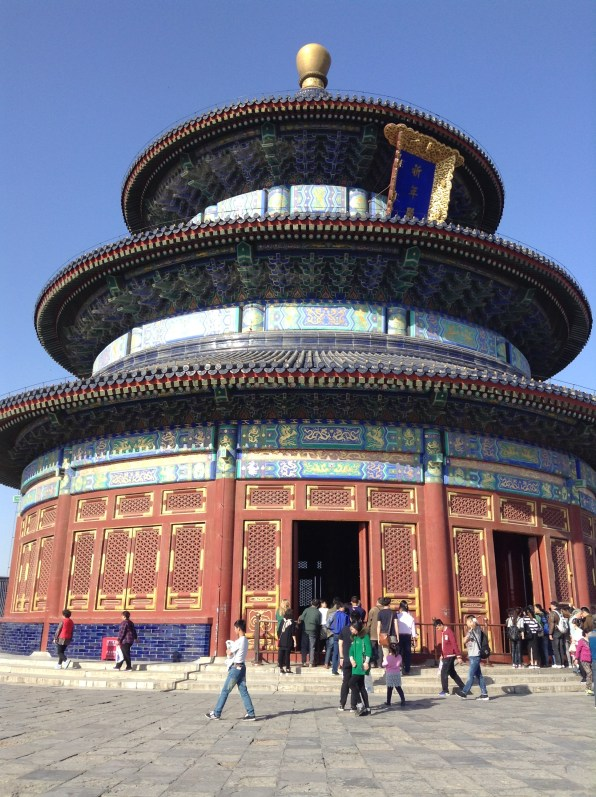 A view of the Temple of Heaven