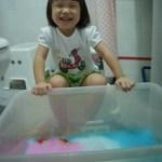 Rainbow Soap Foam Sensory Play