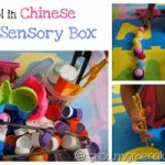Pom Pom Sensory Box