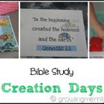 Creation Days–Part 2
