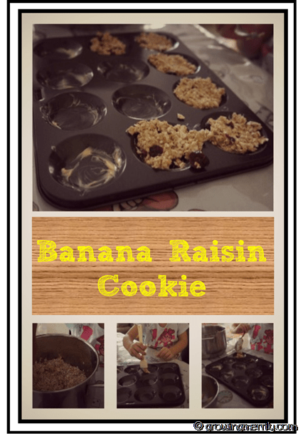 Banana Raisin Cookie