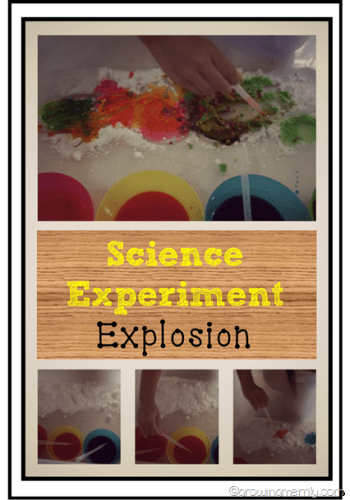 Science Experiment – Explosion