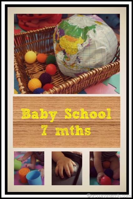 Baby School 7 months
