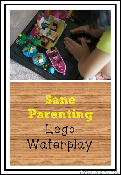 Sane Parenting with Lego Waterplay