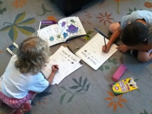 Notebooking for younger children