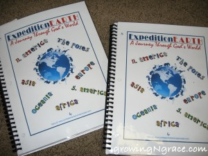 geography notebooks