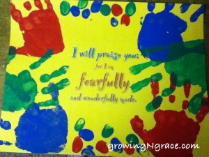 fearfully, wonderfully made poster