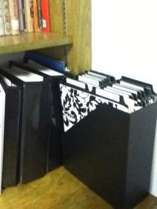 organizing homeschool paperwork