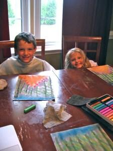Chalk Pastel Lesson