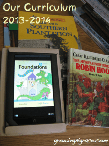 Homeschool Curriculum 2013-2014