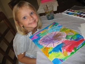 Beginning Art kindergarten