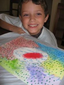 Beginning Art second grade