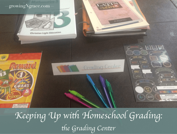 Homeschool Grading: Grading Center
