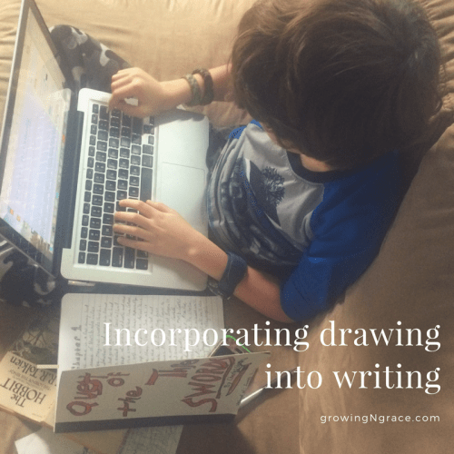 hands-on learning | ADHD | incorporating drawing into writing