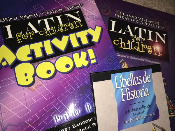 our homeschool curriculum for 6th grade