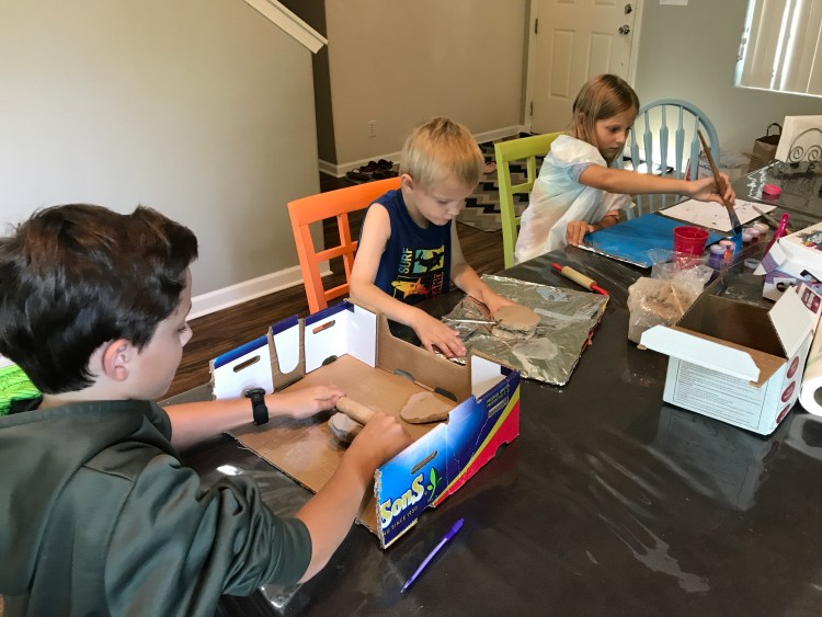 homeschool first day | hands-on geography