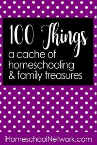 100 things homeschool