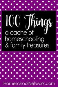 100 things homeschool