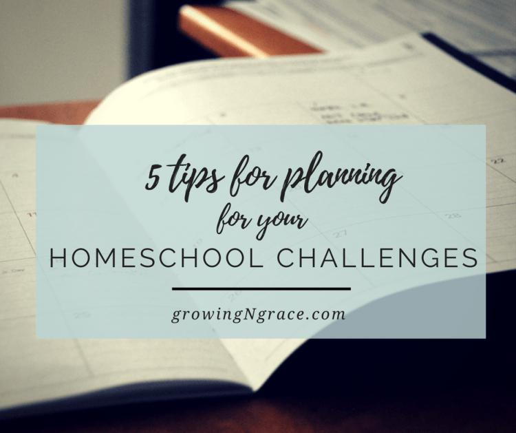 homeschool challenges | homeschool planning