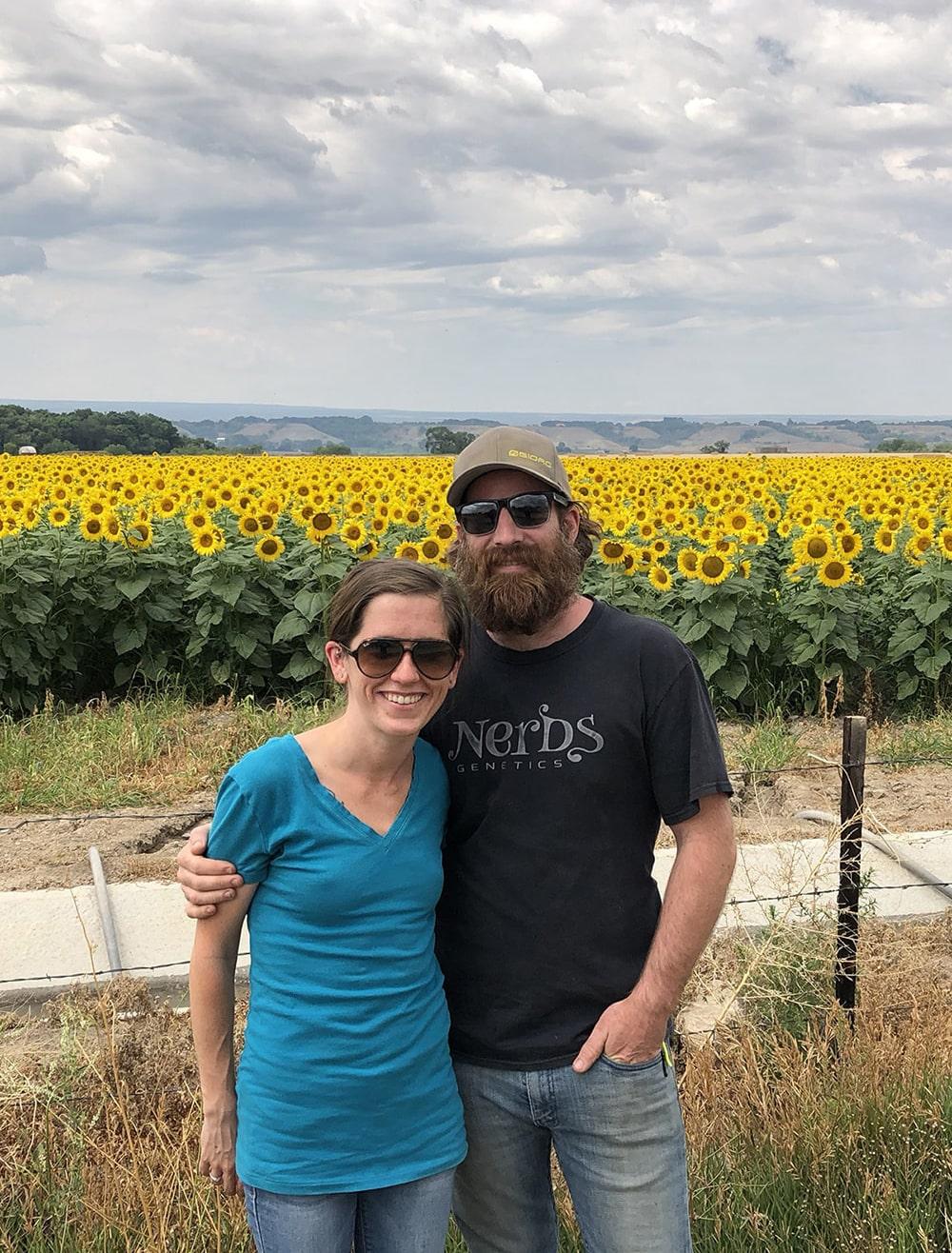 Founders of Growing Organic | Rebecca & AJ