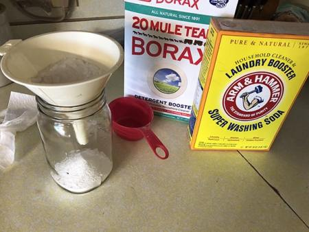 making your own dish detergent