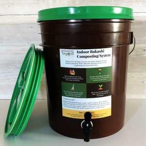 bokashi composting system