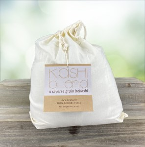 Kashi Blend | A Diverse Grain Bokashi | Natural Soil Builder, Compost Accelerator & Odor Eliminator