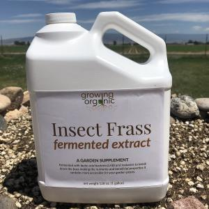 insect frass fermented extract