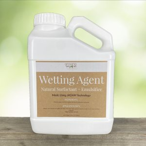 wetting agent + natural surfactant