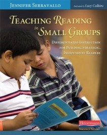 """The problem with these groups, though, is that the instruction was about the book itself. It was devoid of explicit teaching about how to transfer what students had learned to other books or other situations. In other words, the students weren't learning much about being a reader – they were learning mostly about a book."" Jennifer Serravallo"