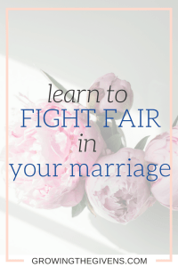 Use these lessons to teach you how to Fight fair in marriage. Grow your relationships with these confrontation tactics.