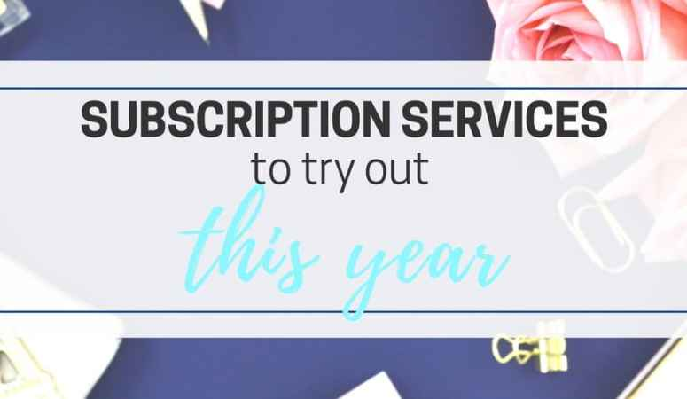 Subscription Services List that You Need to Try