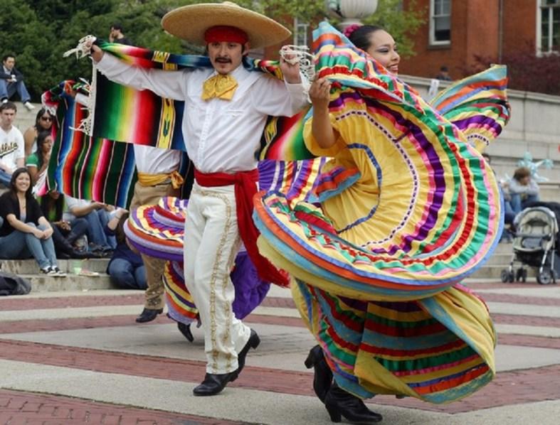Traditional Mexican dance Cinco de Mayo