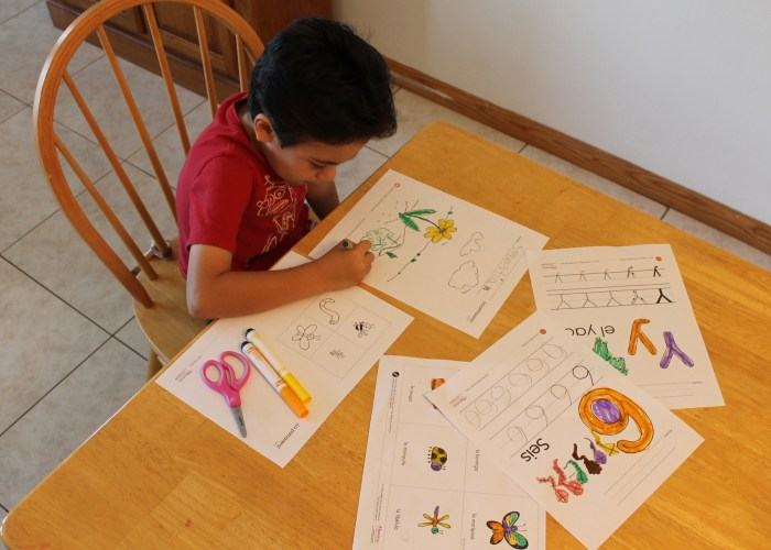 Monarca Languages Spanish Printables And Lesson Plans for Preschoolers