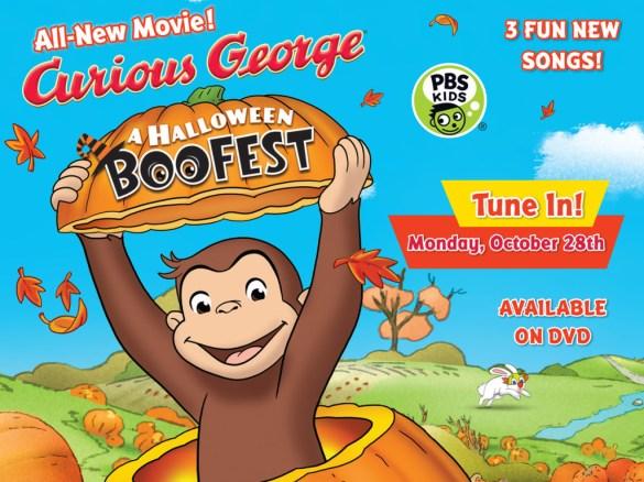 Curious George Boofest Halloween