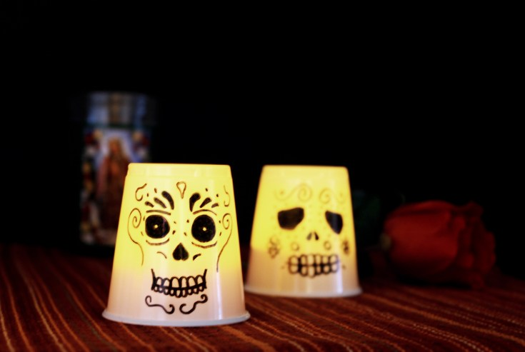 Day of the Dead Craft: Kid Friendly Lanterns