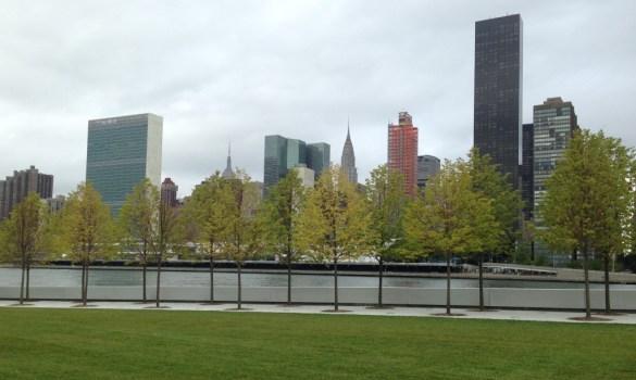New York Skyline from Four Freedoms Park