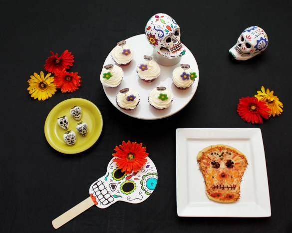 Dia de los Muertos party food ideas