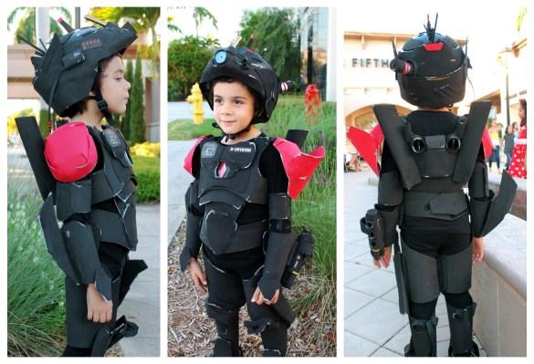 DIY no sew robot costume mech