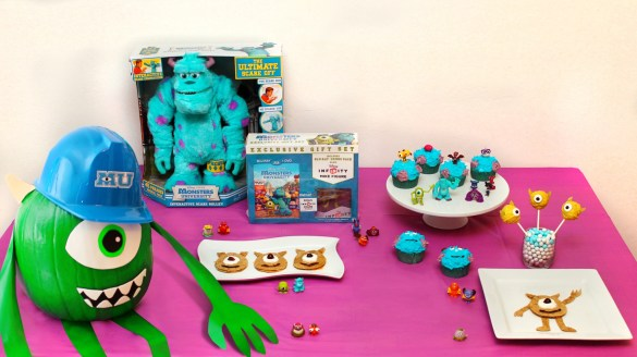 Monsters University Party ideas and toys